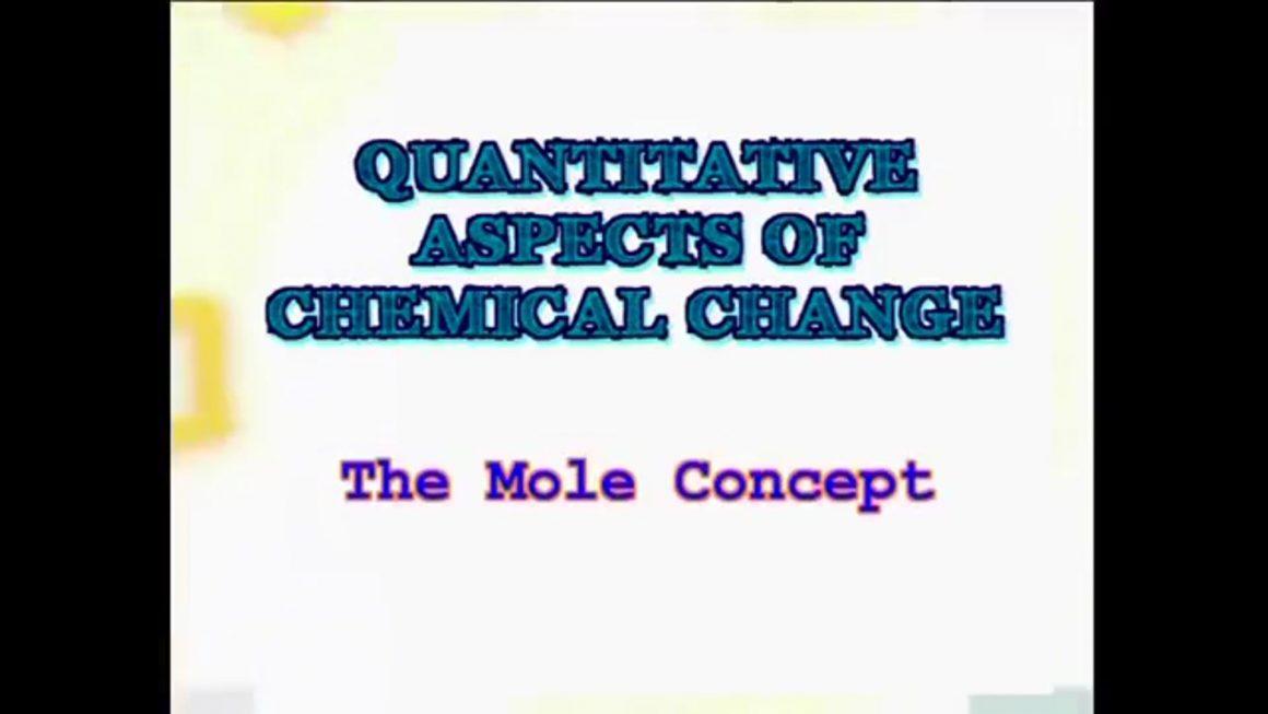 95 The Mole Concept