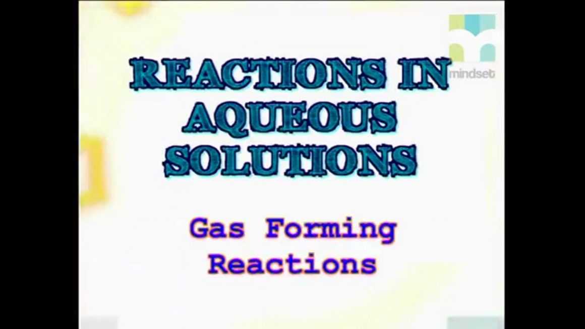 91 Gas-Forming Reactions