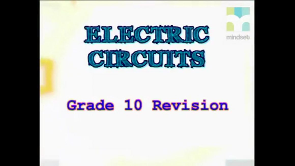 77 Grade 10 Revision of Electric circuits