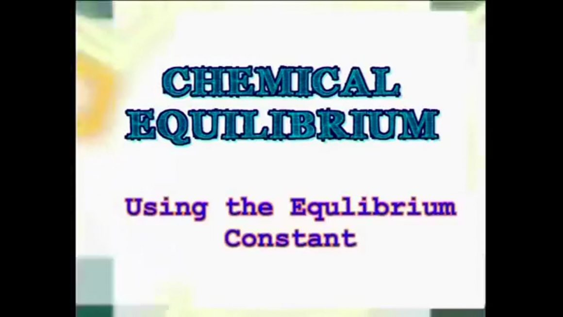 39 Using the Equilibrium Constant