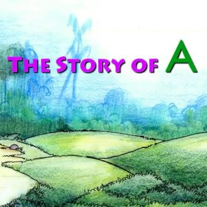 Story Of Letter A for Nursery Kids