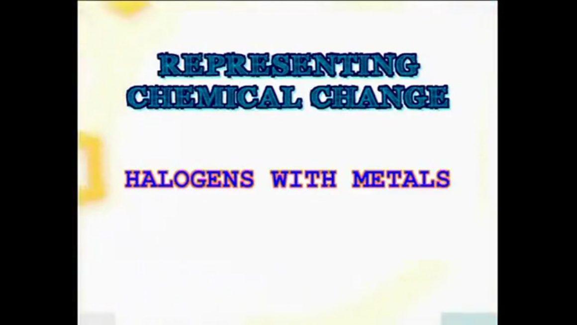 66 Halogens and Metals