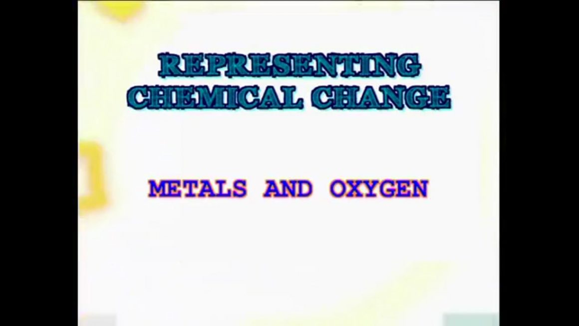 62 Structure Metals with Oxygen