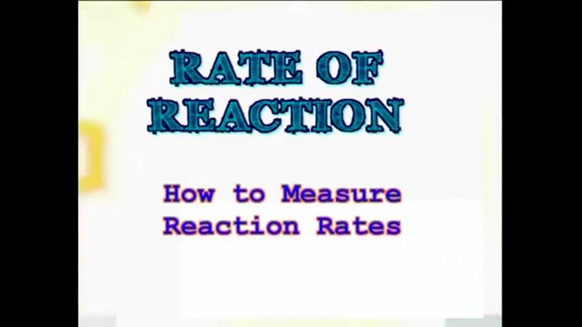 35 How to Measure Reaction Rates
