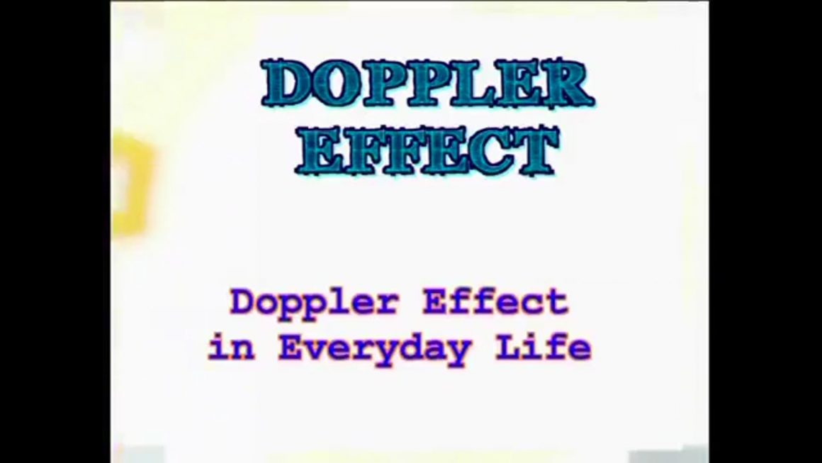 30 Doppler Effect in Everyday Life – Physics of Waves, Sound and Light
