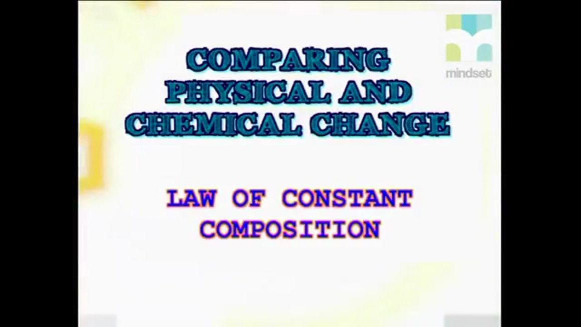 59 Law of Constant Composition