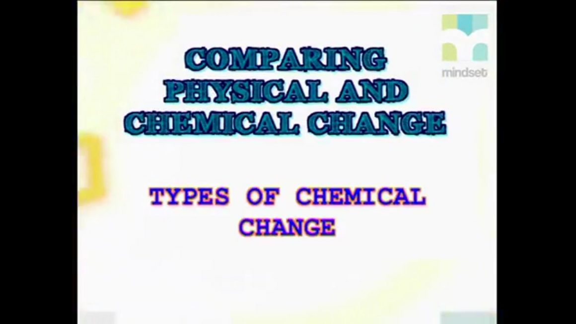 58 Types of Chemical Change