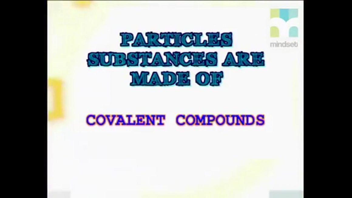 55 Covalent Compounds