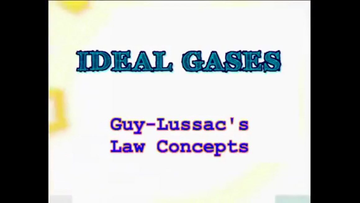50 Gay Lussac's Law Concepts