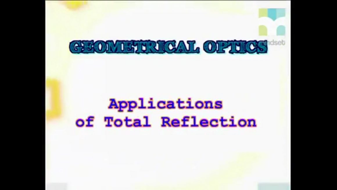 41 Applications of Total Internal Reflection