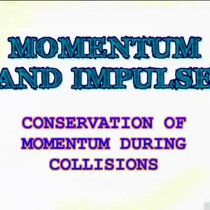 03 Conservation of Momentum during Collisions