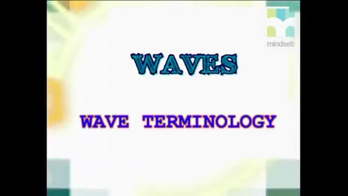 36 Wave Terminology