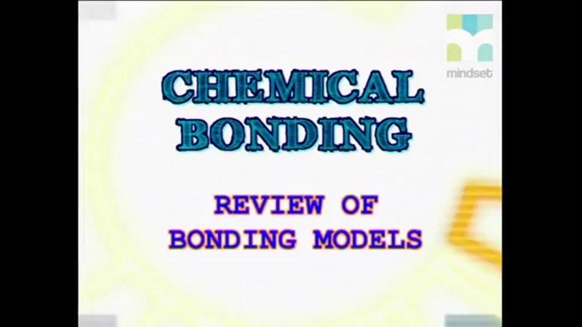 32 Review of Bonding Models