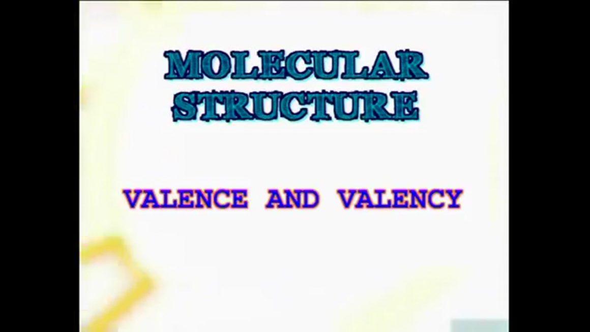 20 Valence and Valency