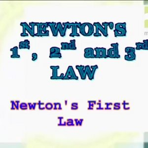 12 Newtons First Law of Motion