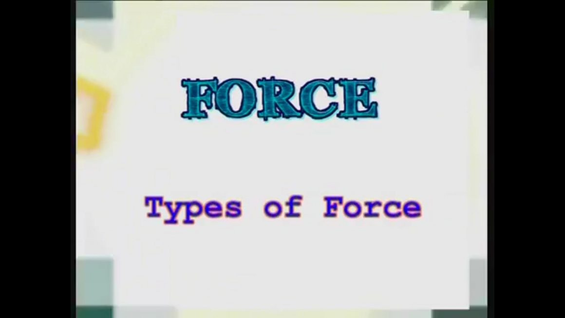 06 Types of Force