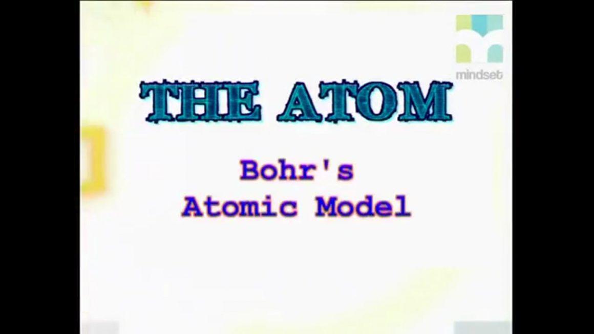 20 Bohr's Atomic Model