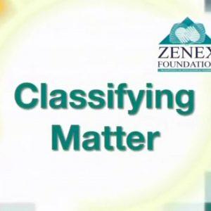 02 Classifying Matter
