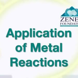 01 Application of Metal Reactions