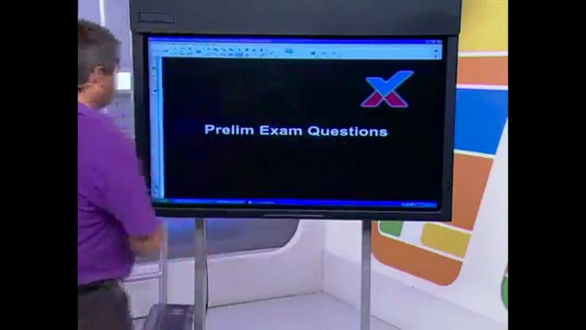 27 Prelim Exam Questions