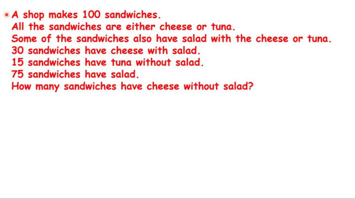 A shop makes sandwiches – Gr3-4