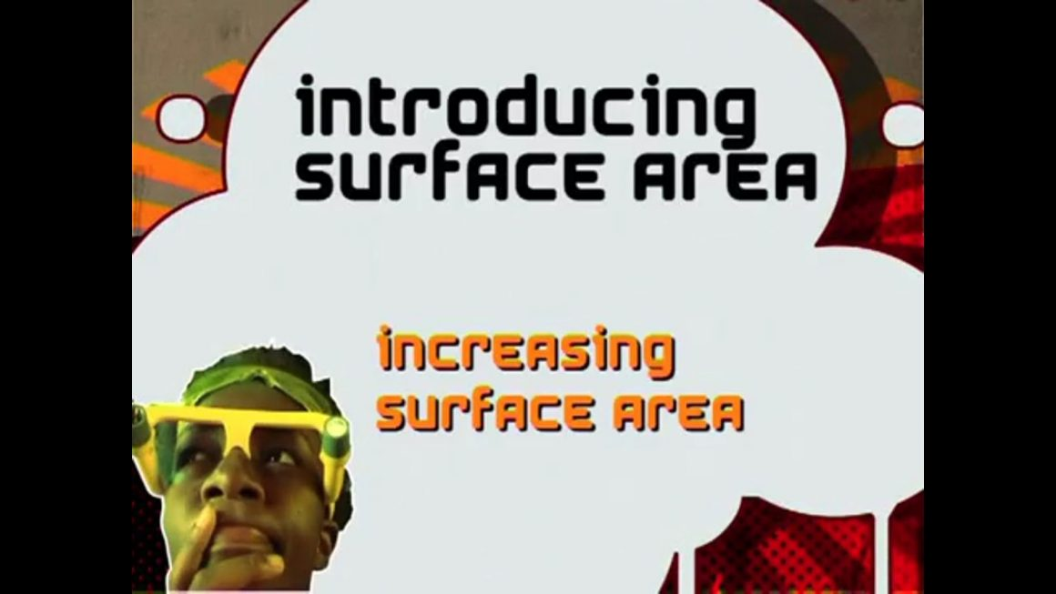 134 Increasing Surface Area