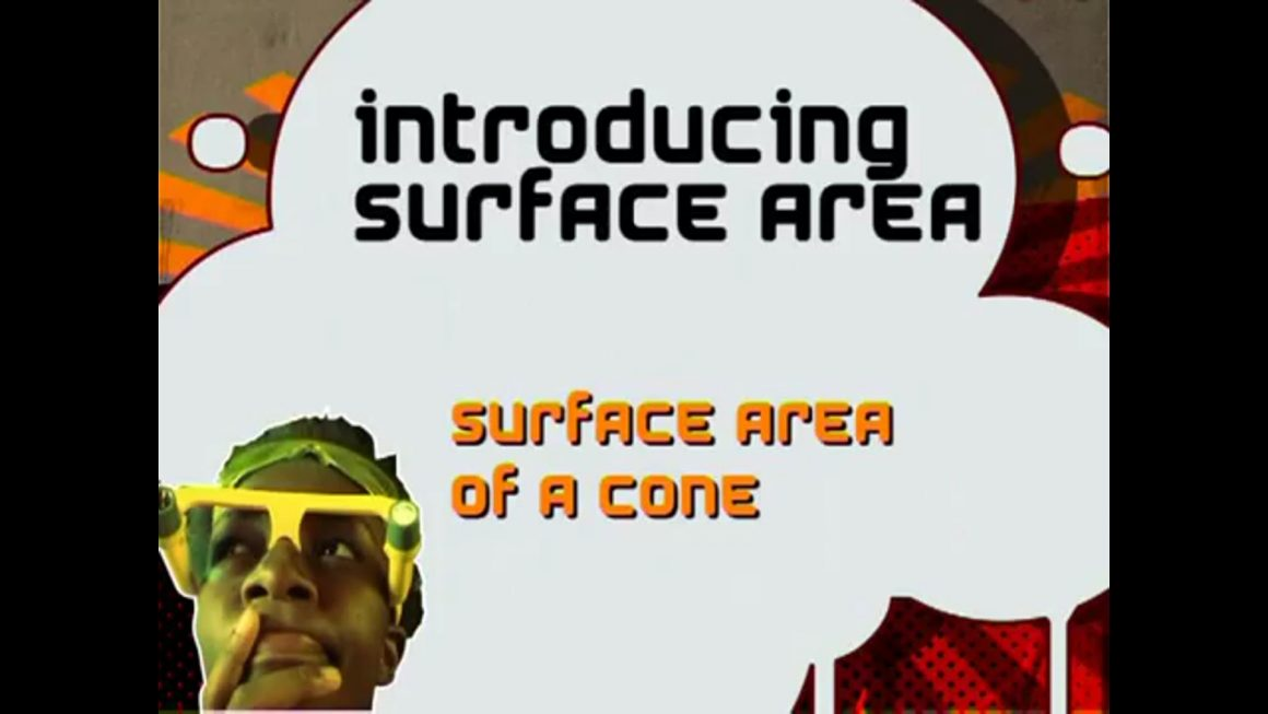 132 Surface Area of a Cone