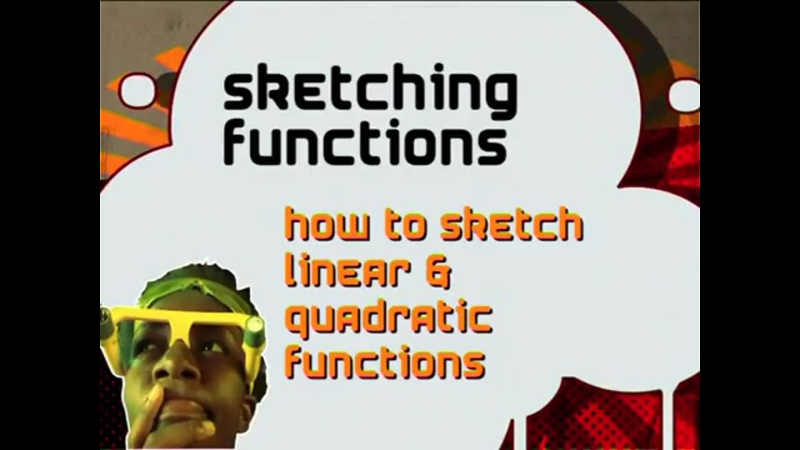 77 How to Sketch Linear and Quadratic Functions