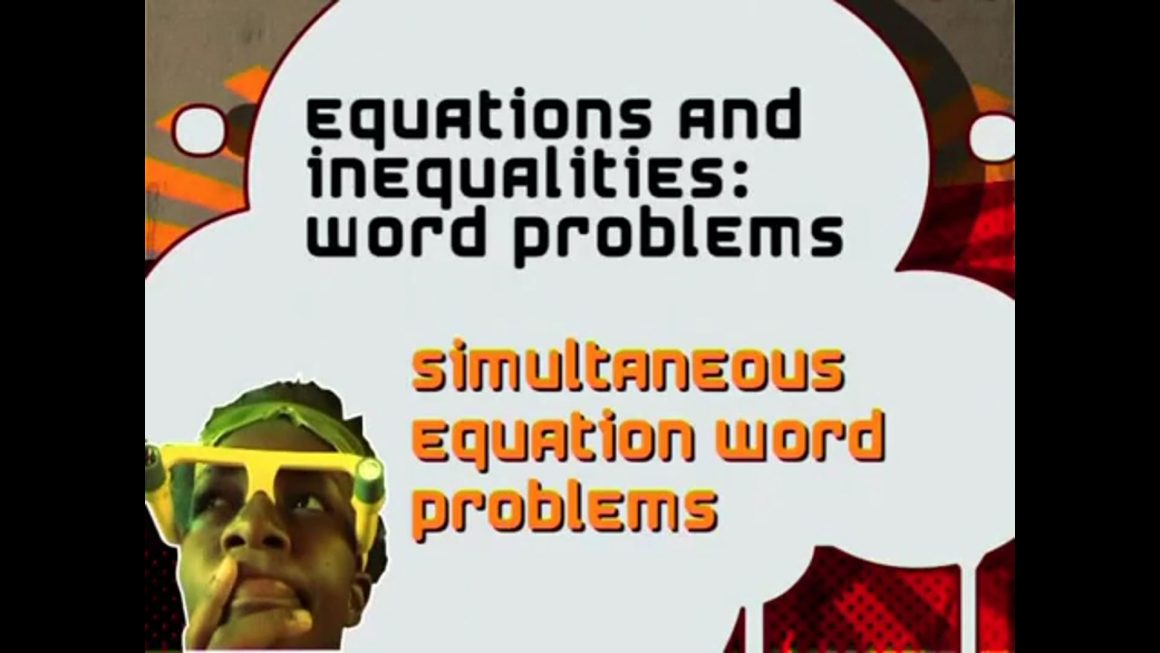 51 Simultaneous Equations Word Problems