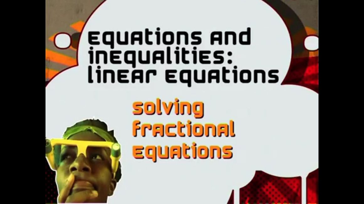 38 Solving Fractional Equations