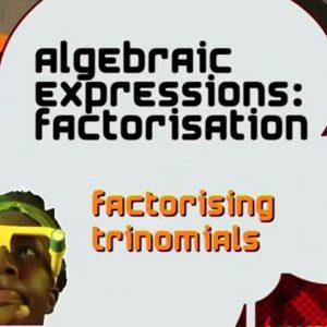 09 Factorising Trinomials