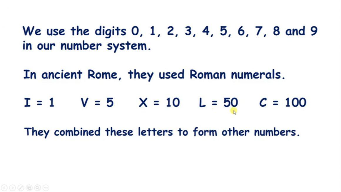 Read Roman Numerals to 100