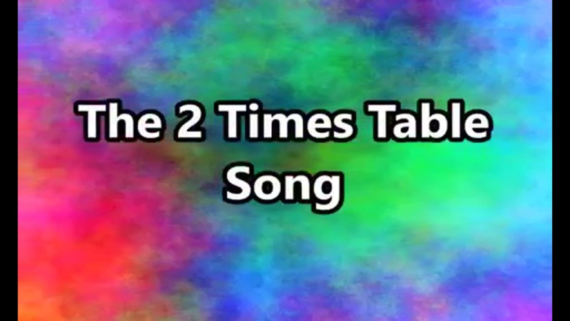 The 02 Times Table Song (Multiplying by 2)