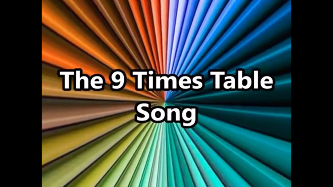 The 09 Times Table Song (Multiplying by 9)