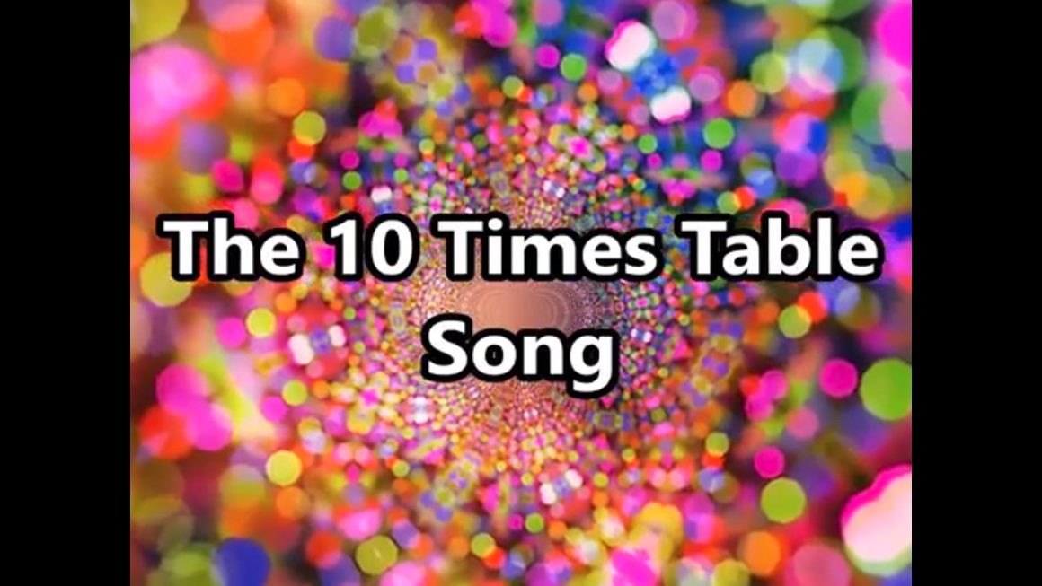 The 10 Times Table Song (Multiplying by 10)