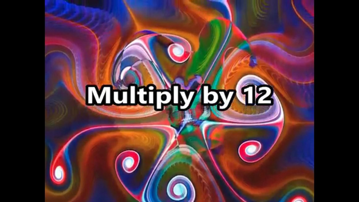 The 12 Times Table Song (Multiplying by 12)