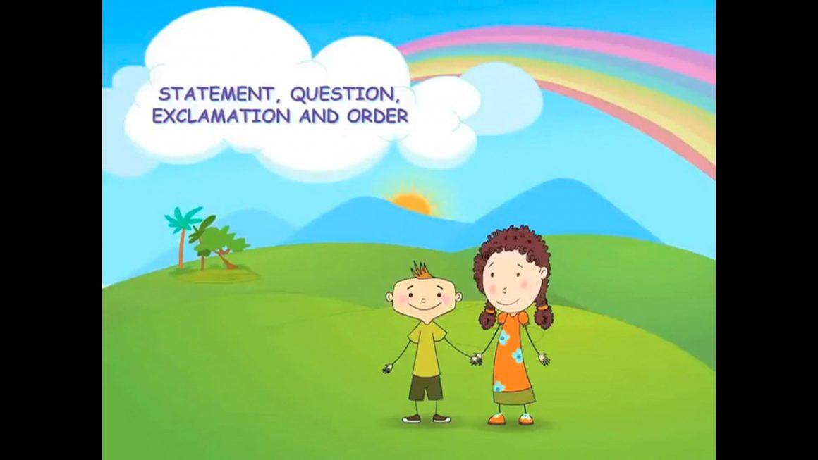 Zizi & Fleck – Sentences – Statement, Question, Exclamation, Order