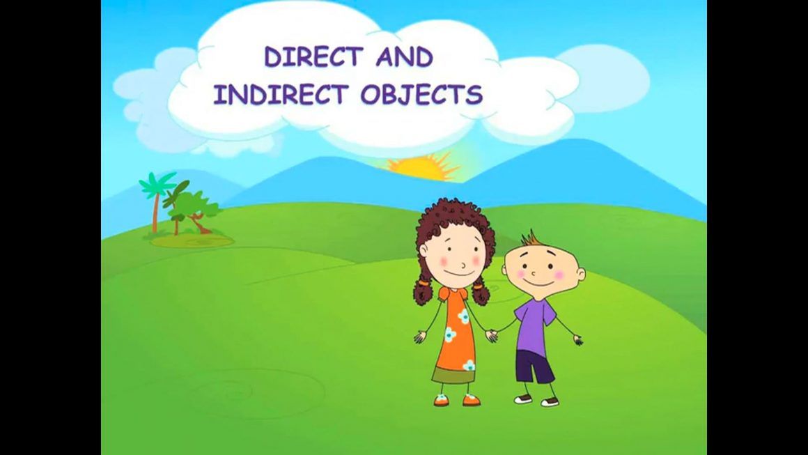 Zizi & Fleck – Verbs – Direct and Indirect Objects